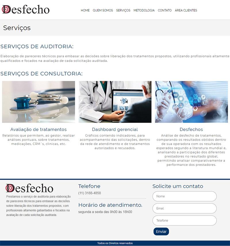 Site Desfecho
