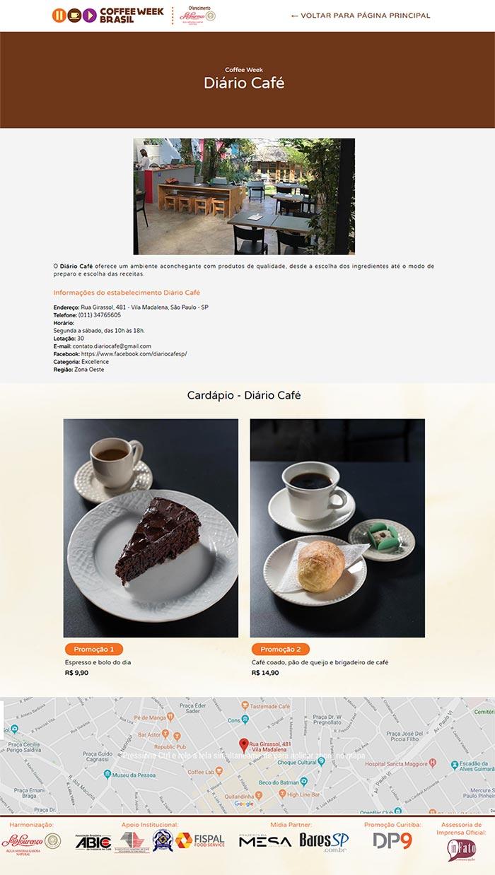 Site Coffee Week Brasil
